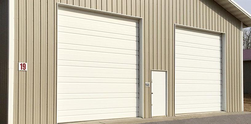 North Central Aspen Ridge Garage Door